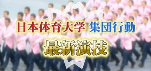 【パフォーマンス】怖いほどに息合い過ぎ!日体大の集団パフォーマンス「集団行動」を見よ!