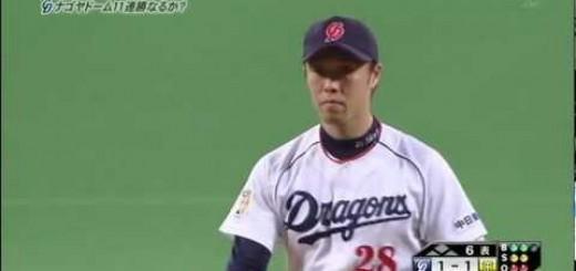 【野球】ボールってこんなに曲がるの!?岩田慎司の無回転フォークがヤバイ!