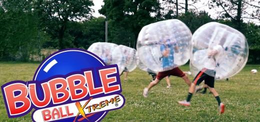 【サッカー】当たっても転んでも痛くないwwバブルボール使ったサッカーが楽しそう!